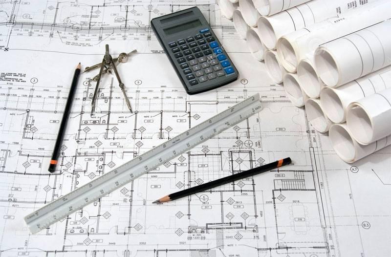Escala de desenho arquitetonico