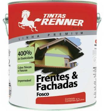 Frentes e fachadas Tintas Renner