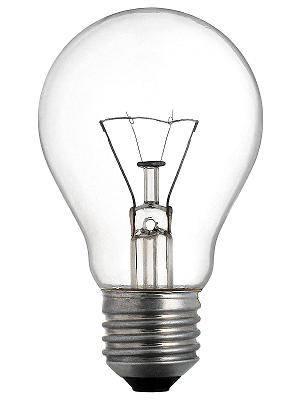 Lâmpada incandescente - tipos de lâmpadas
