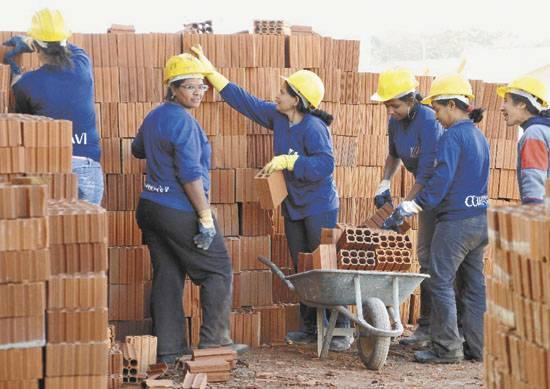 Curso de construção civil - Oportunidade para mulheres