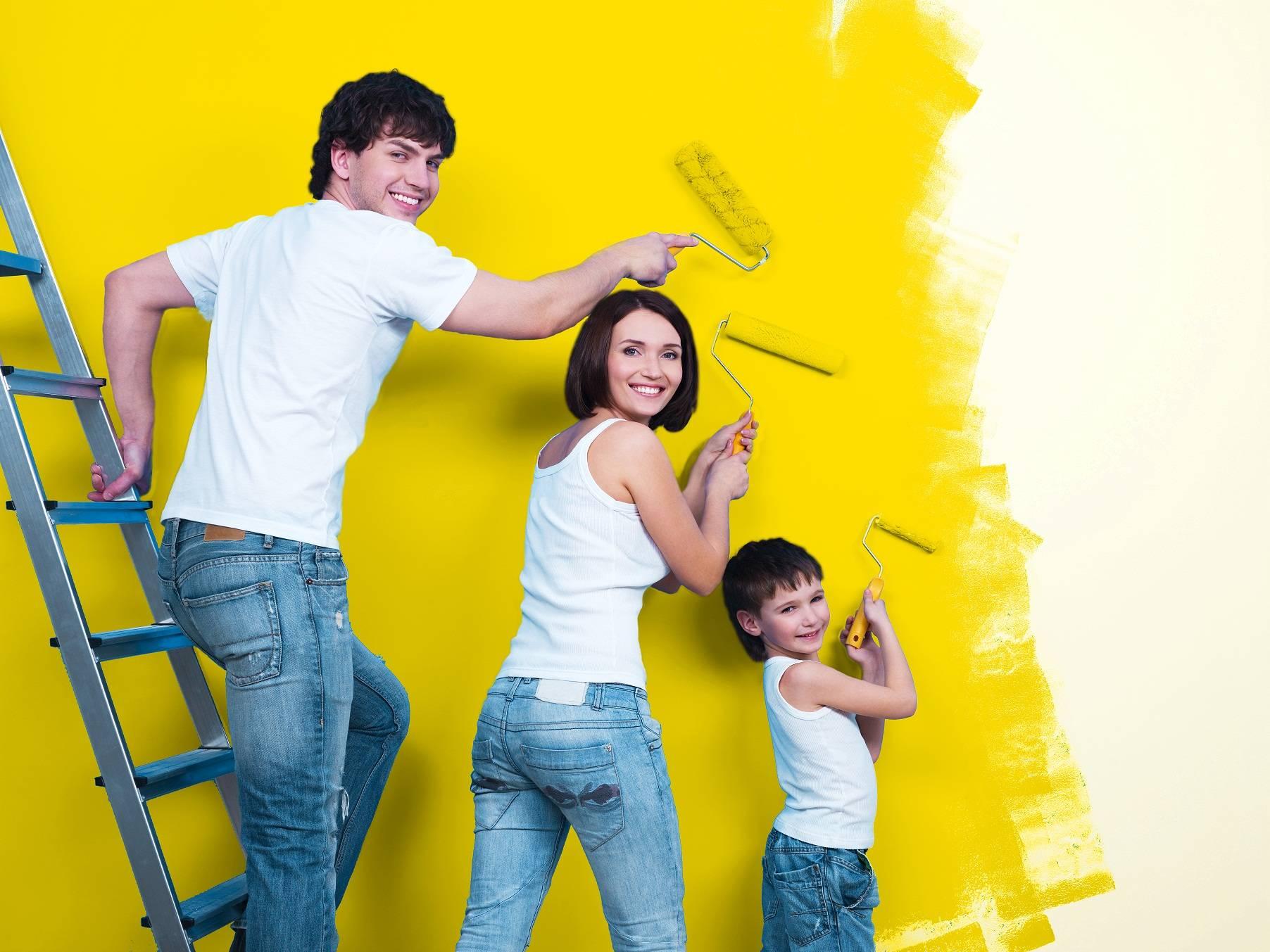 Como fazer pintura de parede