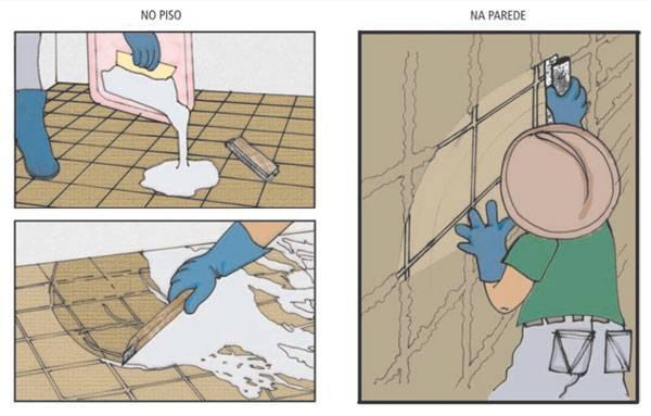 Como rejuntar pisos e paredes
