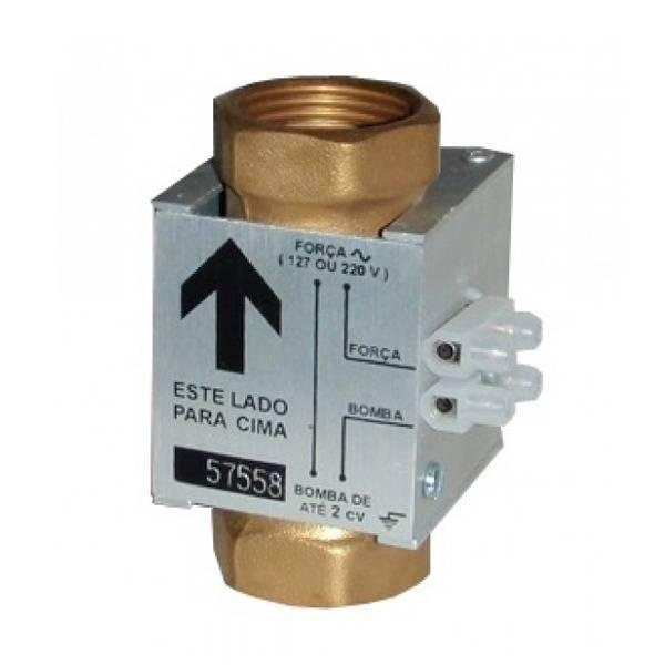 Fluxostato, chave de fluxo, vertical