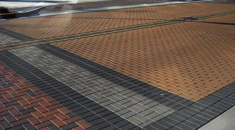 Pavimento intertravado de concreto - permeável