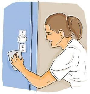 Aprenda a fazer limpeza de portas