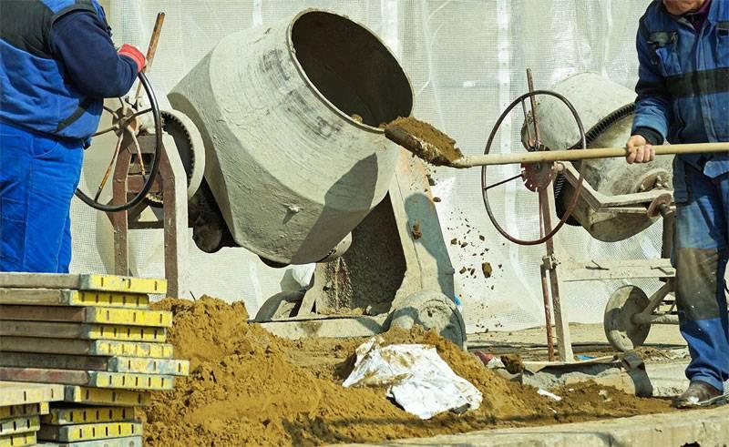 Cuidado no uso da betoneira