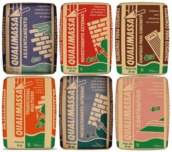Argamassas industrializadas - Qualimassa